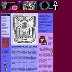 Masons & youth initiation