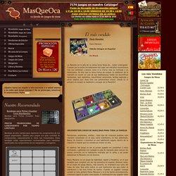 Juegos de mesa MasQueOca.com. Tu Tienda de Juegos de Mesa, Cartas, Wargames y Estrategia
