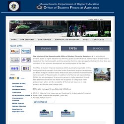 MA Office of Student Financial Assistance