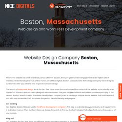 Boston Web Design Company