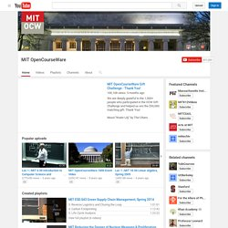 MIT's Channel