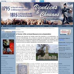 27 février 1794, le Grand Massacre de La Gaubretière