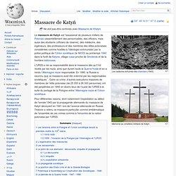 1940 Massacre de Katyń