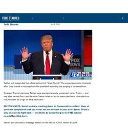 "FRIDAY NIGHT TWITTER MASSACRE: Twitter Suspends ""Trump Campaign Account"