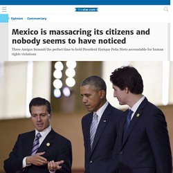 Mexico is massacring its citizens and nobody seems to have noticed