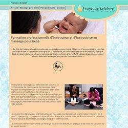 Massage pour bébé, Infant Massage - Formations