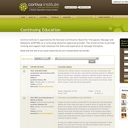 Continuing Education at Cortiva