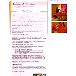 Massage femme enceinte à Bruxelles