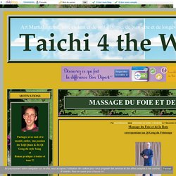 MASSAGE DU FOIE ET DE LA RATE - Taichi 4 the World
