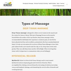 Chronic Pain Massage Therapist in Manhattan