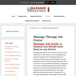 Who is hiring massage therapists?