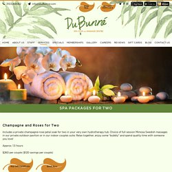 Best Couple Spa Packages in Torrance from Dubunne Spa club and Massage centre - Dubunne
