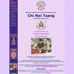 Chi Nei Tsang Massage : Chi Nei Tsang Training : World Headquarters