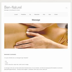 MassageBien-Naturel