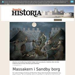 Massakern i Sandby borg