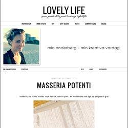 Masseria Potenti - Mia Anderberg - Mia Anderberg