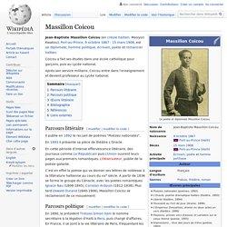 Massillon Coicou