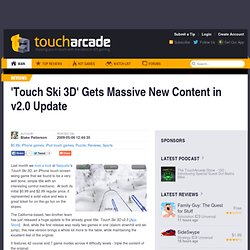 'Touch Ski 3D' Gets Massive New Content in v2.0 Update (Review)