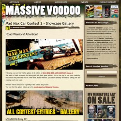 MASSIVE VOODOO: Mad Max Car Contest 2 - Showcase Gallery