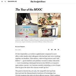 The Year of the MOOC