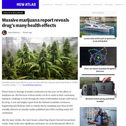Massive marijuana report reveals drug's many health effects