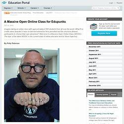 A Massive Open Online Class for Edupunks