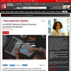 Les MOOC (Massive Onlines Courses), universités de demain?