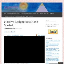 Massive Resignations Have Started « 2012 Indy Info – LRC