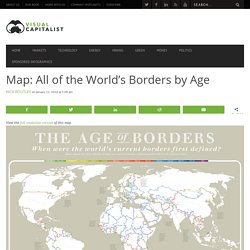 This Massive Map Shows All of the World's Borders by Age