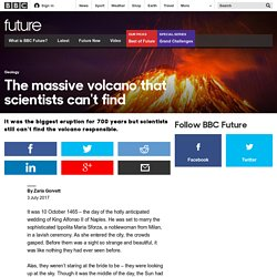 Future - The massive volcano that scientists can't find