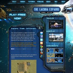 The Lacuna Expanse - Massively Multiplayer Online Space Strategy Game