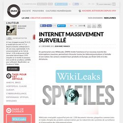 Internet massivement surveillé
