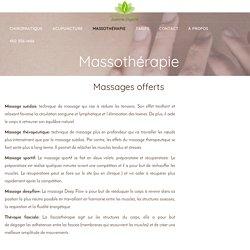 Massothérapeute Boucherville