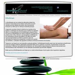 kinéForme Concept - Montréal, massothérapie, kinésithérapie, orthothérapie, shiatsu