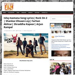 Ishq mastana Song Lyrics