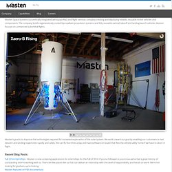 Masten Space Systems, Inc.