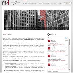 Master et formation juridique à distance en droit des nouvelles technologies, commerce électronique - Droit Multimédia