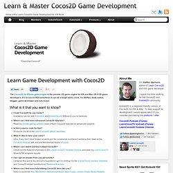 Learn & Master Cocos2D Game Development
