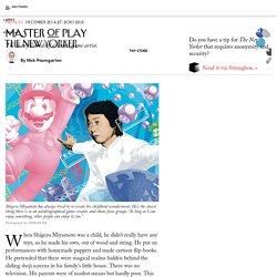 Shigeru Miyamoto, Nintendo's man behind Mario