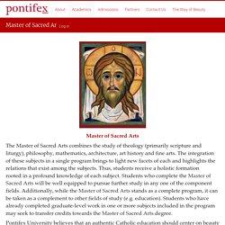 Master of Sacred Arts -