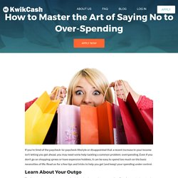 How to Master the Art of Saying No to Over-Spending