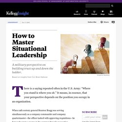 How to Master Situational Leadership