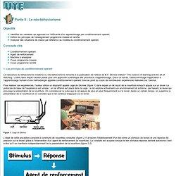 Master UTICEF - m341 - Partie II: Le néo-béhaviorisme - ©UTE - mars 2006
