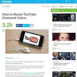 How to Master YouTube Promoted Videos