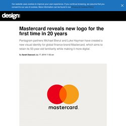 Mastercard reveals new logo for the first time in 20 years - Design Week Design Week