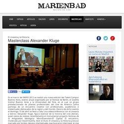 Masterclass Alexander Kluge