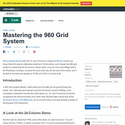Mastering the 960 Grid System