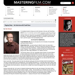 Mastering Film » Digging Deep – An Interview with Frank Rose