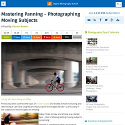 Mastering Panning – Photographing Moving Subjects