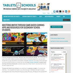 Maths Through Game-Based Learning